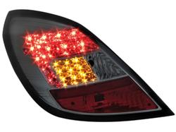 Фонари задние Opel Corsa D 5-дверная дымчатого цвета LED