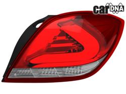 Фонари задние Opel Astra H GTC красного цвета LED (светодиодные)