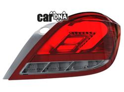 Фонари задние Opel Astra H Хэтчбек красного цвета LED (светодиодные)