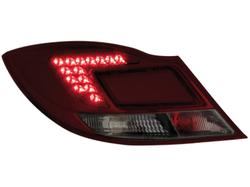 Фонари задние Opel Insignia Седан красного дымчатого цвета LED (светодиодные)