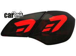 Фонари задние Opel Astra J Хэтчбек красного дымчатого цвета LED (светодиодные)