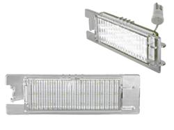 Подсветка номерного знака Opel Astra H, Opel Corsa D, Opel Insignia, Opel Vactra C Седан, Opel Zafira B LED (светодиодная)