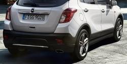 Обвес на Opel Mokka от компании Opel в стиле OPC Line I с вырезом в бампере под глушитель