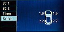 Датчик давления в шинах для Opel Zafira B