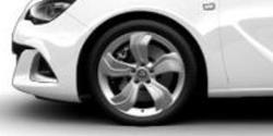 Диски литые R19 легкосплавные дизайн OPC Line 5 лучей для Opel Astra J