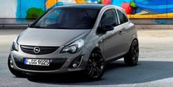Решетка радиатора Opel Corsa D черная