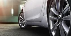 Обвес на Opel Astra J Sports Tourer (рестайлинг) от компании Opel в стиле OPC Line I без выреза в бампере под глушитель