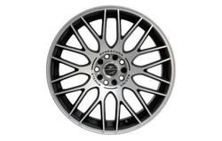 Диски литые R18 легкосплавные Barracuda Karizzma Mattblack-Polished для Opel Antara, Opel Astra J, Opel Astra J GTC, Opel Mokka, Opel Zafira Tourer