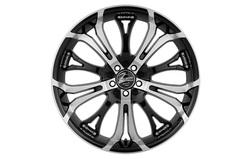 Диски литые R18 легкосплавные Barracuda Tzunamee Higloss-Black-Polished для Opel Antara, Opel Astra J, Opel Astra J GTC, Opel Mokka, Opel Zafira Tourer