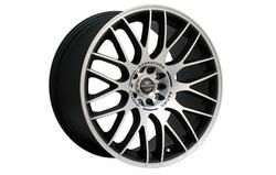 Диски литые R19 легкосплавные Barracuda Karizzma Mattblack-Polished для Opel Antara, Opel Astra J, Opel Astra J GTC, Opel Mokka, Opel Zafira Tourer
