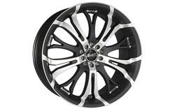 Диски литые R19 легкосплавные Barracuda Tzunamee Mattblack-Polished для Opel Antara, Opel Astra J, Opel Astra J GTC, Opel Mokka, Opel Zafira Tourer