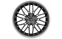 Диски литые R17 легкосплавные Barracuda Voltec Black-Chrome/Inox-Lip для Opel Insignia