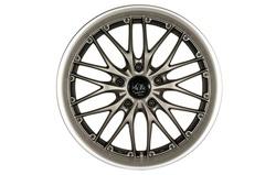Диски литые R17 легкосплавные Barracuda Voltec Gun-Metal/Matt-Polished-Lip для Opel Insignia