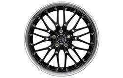 Диски литые R17 легкосплавные Barracuda Voltec Higloss-Black/Inox-Lip для Opel Insignia