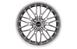 Диски литые R17 легкосплавные Barracuda Voltec Hyper-Black-Silver для Opel Insignia