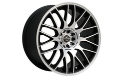 Диски литые R18 легкосплавные Barracuda Karizzma Mattblack-Polished для Opel Insignia