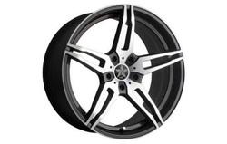 Диски литые R18 легкосплавные Barracuda Starzz Mattblack-Polished для Opel Insignia