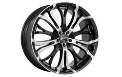 Диски литые R18 легкосплавные Barracuda Tzunamee Higloss-Black-Polished для Opel Insignia