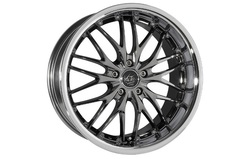 Диски литые R18 легкосплавные Barracuda Voltec Black-Chrome/Inox-Lip для Opel Insignia
