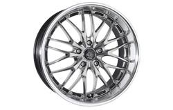 Диски литые R18 легкосплавные Barracuda Voltec Hyper-Black-Silver для Opel Insignia