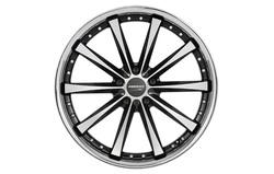 Диски литые R18 легкосплавные Corniche Arrows Higloss-Black-Polished/Inox-Lip для Opel Insignia