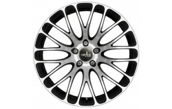 Диски литые R18 легкосплавные Corniche Monza Higloss-Black-Polished для Opel Insignia