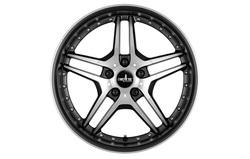 Диски литые R18 легкосплавные Corniche Vegas Mattblack-Polished для Opel Insignia