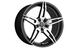 Диски литые R20 легкосплавные Barracuda Starzz Mattblack-Polished для Opel Insignia