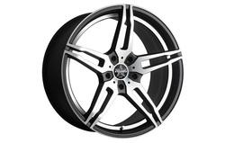 Диски литые R20 легкосплавные Barracuda Starzz Mattblack-Polished/Undercut-Polished для Opel Insignia