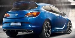 Спойлер на крышу Opel Astra J GTC OPC биплан (высокий)