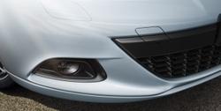 Накладка на бампер передний Opel Astra J GTC пакет OPC Line