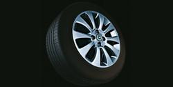 Диски литые R16 легкосплавные серебристые дизайн 10 лучей для Opel Corsa D 4х100