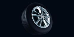 Диски литые R16 легкосплавные серебристые дизайн 5 двойных лучей для Opel Corsa D 5х110