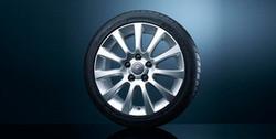 Диски литые R16 легкосплавные серебристые дизайн 11 лучей для Opel Corsa D 4х100