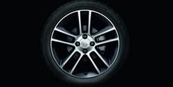 Диски литые R17 легкосплавные с покрытием Bi-color дизайн 5 двойных лучей для Opel Corsa D 5х110
