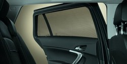 Защитные шторки на боковые окна Opel Mokka