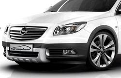 Накладка на бампер передний Opel Insignia Sports Tourer