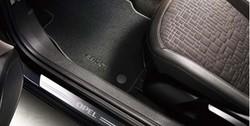 Коврики в салон Opel Corsa E велюровые черные