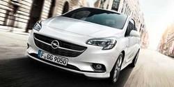 Обвес на Opel Corsa E 5-дверная от компании Opel в стиле OPC Line I с вырезом в бампере под глушитель