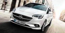 Обвес на Opel Corsa E 3-дверная от компании Opel в стиле OPC Line I с вырезом в бампере под глушитель