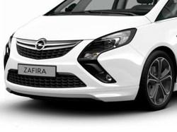 Накладка на бампер передний Opel Zafira Tourer пакет OPC Line I