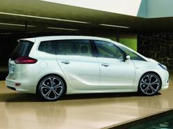 Пороги Opel Zafira Tourer пакет OPC Line I