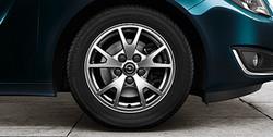 Диски литые R16 легкосплавные серебристые дизайн 5 V-образных лучей для Opel Insignia