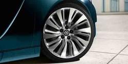 Диски литые R20 легкосплавные серебристые дизайн 10 двойных лучей для Opel Insignia