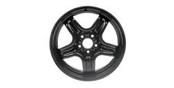 Диски стальные R17 структурные дизайн 5 лучей черные для Opel Insignia