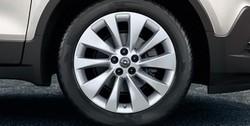 Диски литые R18 легкосплавные дизайн 10 спиц Silver для Opel Mokka