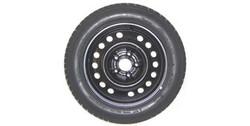 Диски стальные R16 штампованные черные для Opel Mokka