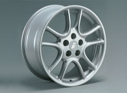 Диски литые R15 легкосплавные серебристые дизайн Twin Spoke-Design для Opel Astra H, Opel Vectra C