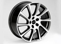 Диски литые R18 легкосплавные двухцветные дизайн Turbo Star exclusiv-Design для Opel Insignia
