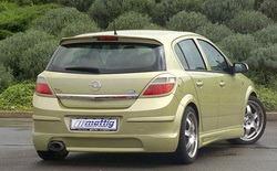 Бампер задний Opel Astra H